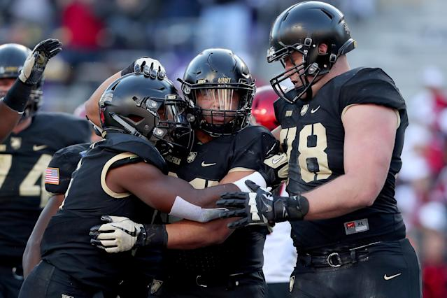 Army held the ball for over 46 minutes against San Diego State. (Getty)