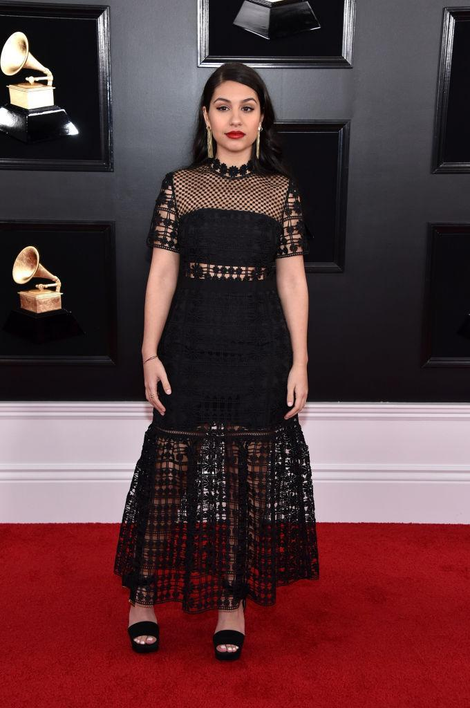 <p>Alessia Cara attends the 61st annual Grammy Awards at Staples Center on Feb. 10, 2019, in Los Angeles. </p>