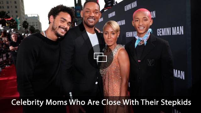 Trey Smith, Will Smith, Jada Pinkett Smith and Jaden Smith