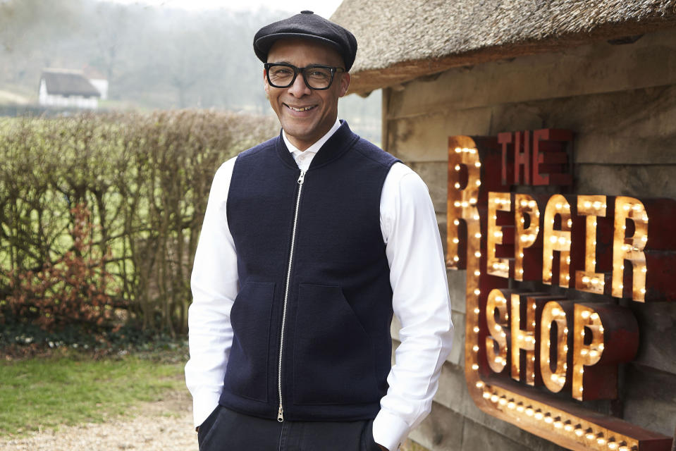 Jay Blades is the host of BBC's The Repair Shop (BBC)