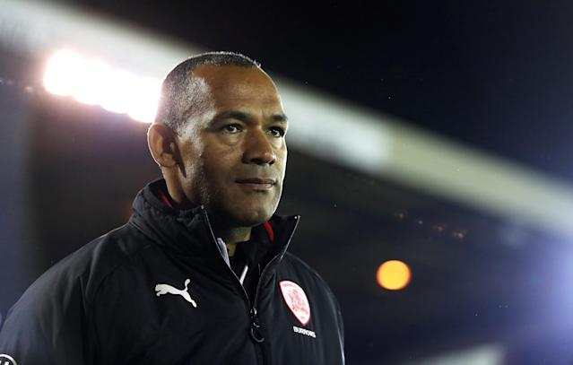 "Soccer Football - Championship - Barnsley vs Burton Albion - Oakwell, Barnsley, Britain - February 20, 2018 Barnsley manager Jose Morais before the match Action Images/John Clifton EDITORIAL USE ONLY. No use with unauthorized audio, video, data, fixture lists, club/league logos or ""live"" services. Online in-match use limited to 75 images, no video emulation. No use in betting, games or single club/league/player publications. Please contact your account representative for further details."