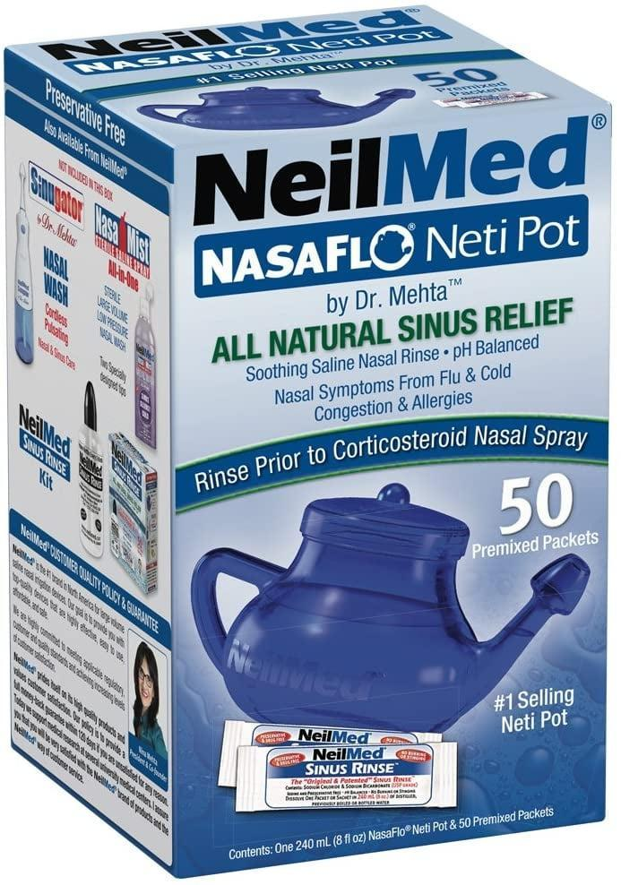 """<p>That said, Levy can appreciate a good drugstore steal. His go-to is the neti pot, like the <span>NeilMed NasaFlo Unbreakable Neti Pot</span> ($14), but he admitted that he's also guilty of getting sidetracked by the vast assortment of non-beauty products all around him. </p> <p>""""There's so much on offer there that I will often leave having bought something I did not go in there expecting to buy,"""" he said. """"I counteract the neti pot with like a five-pound tub of gummy worms. So, I don't know what that says, but you know, no regrets.""""</p>"""
