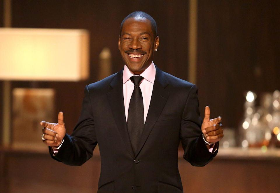 """<p>In the '80s, Eddie Murphy released a <a href=""""https://open.spotify.com/artist/1Zq8pfBl4ejCMrWdeAdphc?si=RyVW1KIMT56OokSOlrwu4Q"""" rel=""""nofollow noopener"""" target=""""_blank"""" data-ylk=""""slk:slew of comedy albums"""" class=""""link rapid-noclick-resp"""">slew of comedy albums</a>. After that, he ventured into music. His 1985 album, <a href=""""https://open.spotify.com/album/2ghvihRomDb37X59VK6hp5?si=cInjmjmkTS290J0u3K95qg"""" rel=""""nofollow noopener"""" target=""""_blank"""" data-ylk=""""slk:How Could It Be"""" class=""""link rapid-noclick-resp""""><em>How Could It Be</em></a>, features incredibly funky beats. In 2015, he had a top <a href=""""https://www.vanityfair.com/hollywood/2015/02/eddie-murphy-musical-retrospective"""" rel=""""nofollow noopener"""" target=""""_blank"""" data-ylk=""""slk:10 reggae hit with """"Oh Jah Jah."""""""" class=""""link rapid-noclick-resp"""">10 reggae hit with """"Oh Jah Jah.""""</a> Talk about a true icon.</p>"""