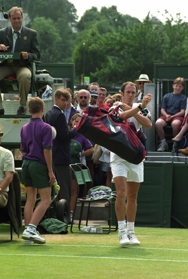 Tarango storms off court and out of Wimbledon in 1995