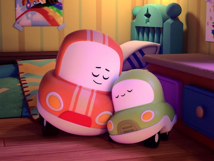 This animated series was designed for parents and small children to watch together.