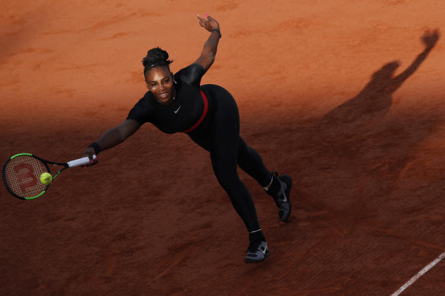 "<a class=""link rapid-noclick-resp"" href=""/olympics/rio-2016/a/1132744/"" data-ylk=""slk:Serena Williams"">Serena Williams</a> was unseeded at the French Open and beat two seeded players.  (AP Photo/Christophe Ena)"