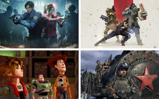 The best games of 2019, featuring Resident Evil 2, Apex Legends, Metro Exodus and Kingdom Hearts 3
