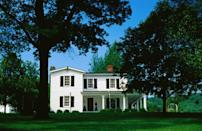 """<p>If you like whiskey, <a href=""""https://www.tripadvisor.com/Tourism-g39163-Bardstown_Kentucky-Vacations.html"""" rel=""""nofollow noopener"""" target=""""_blank"""" data-ylk=""""slk:Bardstown is basically a can't-miss stop"""" class=""""link rapid-noclick-resp"""">Bardstown is basically a can't-miss stop</a> — you might not be familiar with it, but it <em>is</em> the bourbon capital of the world, after all. It's home to several distilleries, including Jim Beam and Maker's Mark. </p>"""