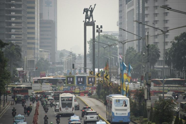 Jakarta's toxic skies have been stuck at unhealthy levels for weeks despite drastic efforts to cut down on congestion