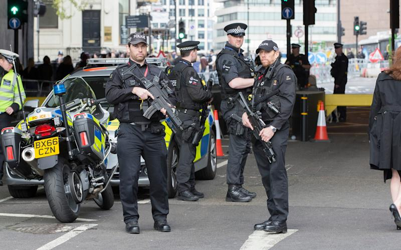 Armed police are receiving specialist training to deal with new threats - Credit: Nick Edwards