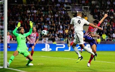 Karim Benzema makes it 1-1 after 27 minutes - Credit: Getty images