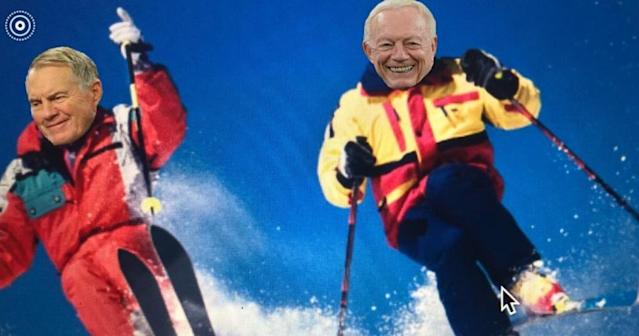 LISTEN: 'So, Cowboys Boss Jerry Jones and Future Patriots Boss Bill Belichick Walk Into A 1990's Ski Resort ...'