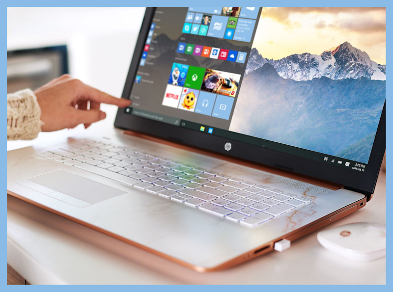 HP 15 Touch Laptop is on sale for $700. (Photo: QVC)