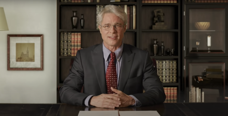 Brad Pitt Unveils His Anthony Fauci on 'SNL'