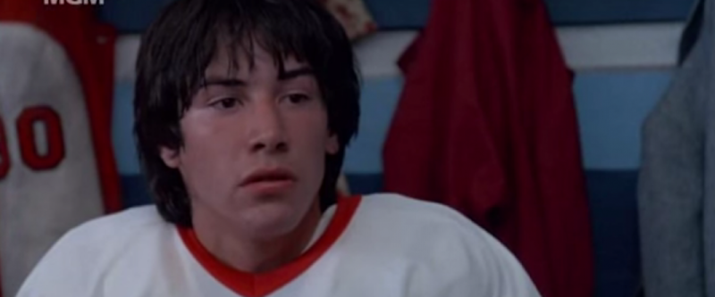 Keanu Reeves Youngblood 1986