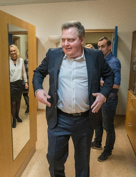 Iceland's former prime minister Sigmundur David Gunnlaugsson was forced to resign in the wake of the Panama Papers scandal (AFP Photo/Halldor KOLBEINS)