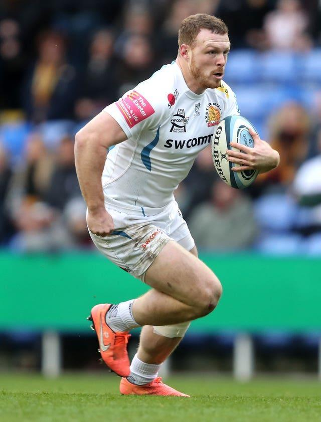 Sam Simmonds will be hoping to make an impact with his ball carrying against the Sharks