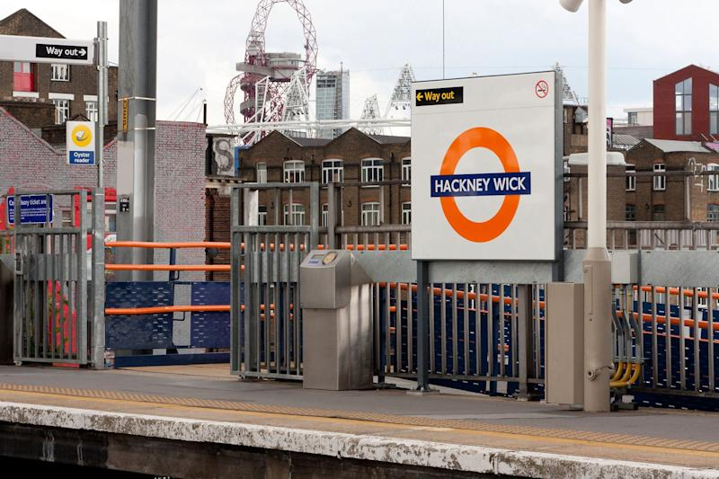 Police were called to the Overground tracks near Hackney Wick (Alamy)