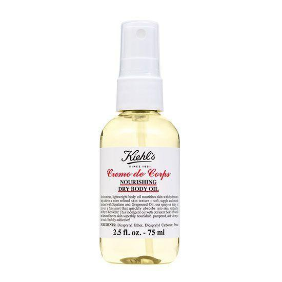 """<p><strong>Kiehl's</strong></p><p>nordstrom.com</p><p><strong>$18.00</strong></p><p><a href=""""https://go.redirectingat.com?id=74968X1596630&url=https%3A%2F%2Fshop.nordstrom.com%2Fs%2Fkiehls-since-1851-creme-de-corps-nourishing-dry-body-oil%2F4718490&sref=https%3A%2F%2Fwww.goodhousekeeping.com%2Fbeauty-products%2Fg33012147%2Fbest-spray-lotions%2F"""" rel=""""nofollow noopener"""" target=""""_blank"""" data-ylk=""""slk:Shop Now"""" class=""""link rapid-noclick-resp"""">Shop Now</a></p><p>Part of the iconic, GH beauty editor favorite Kiehl's Creme de Corps line, this formula delivers the benefits of the original body cream in dry oil spray form. """"<strong>This oil is genuinely dry and non-greasy, which seems miraculous</strong>,"""" a <a href=""""https://go.redirectingat.com?id=74968X1596630&url=https%3A%2F%2Fshop.nordstrom.com%2F%3Forigin%3Dtab-logo&sref=https%3A%2F%2Fwww.goodhousekeeping.com%2Fbeauty-products%2Fg33012147%2Fbest-spray-lotions%2F"""" rel=""""nofollow noopener"""" target=""""_blank"""" data-ylk=""""slk:Nordstrom"""" class=""""link rapid-noclick-resp"""">Nordstrom</a> reviewer marveled. """"My legs were very dry and it completely [healed] them, and my skin still feels super soft the next day. """"</p>"""