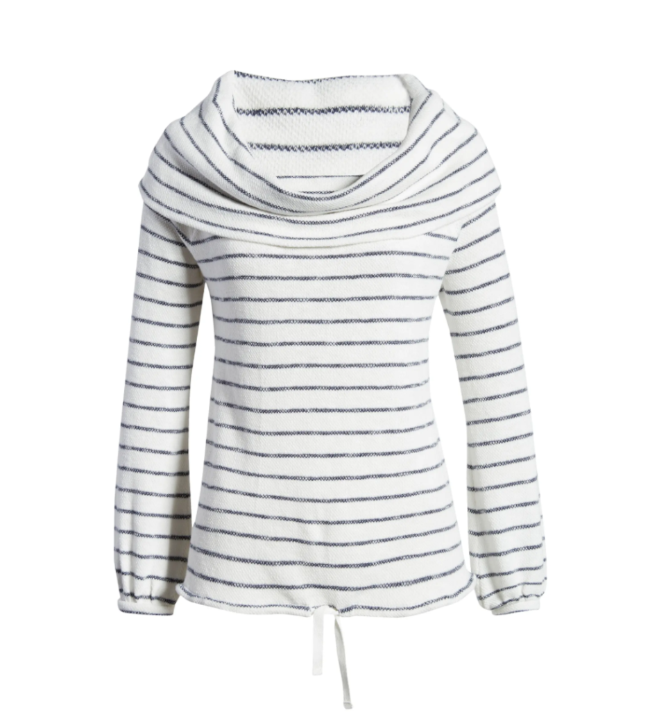 Convertible Off the Shoulder Pullover. Image via Nordstrom.