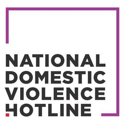 National Domestic Violence Hotline logo -- Operating around the clock, seven days a week, 24/7, confidential and free of cost, the National Domestic Violence Hotline (NDVH) provides lifesaving tools and immediate support to enable victims to find safety and live lives free of abuse. (PRNewsfoto/Nat. Domestic Violence Hotline)