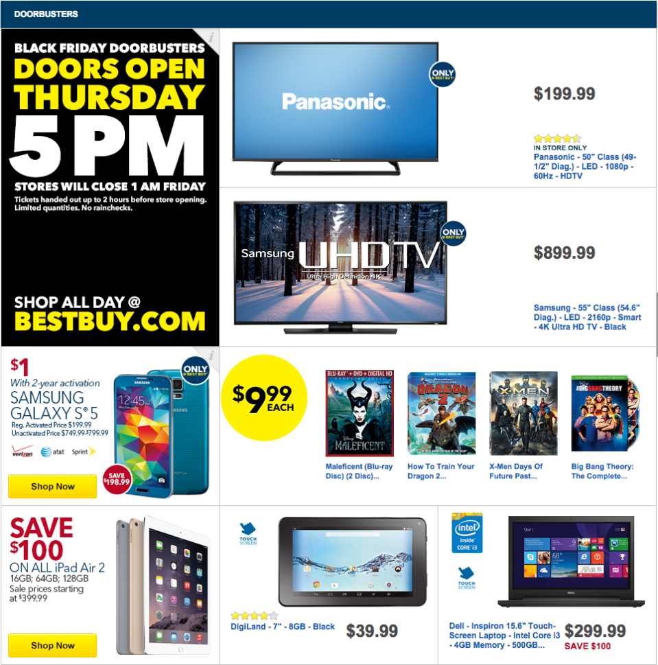 Massive 47-page ad shows all of Best Buy's crazy Black Friday deals