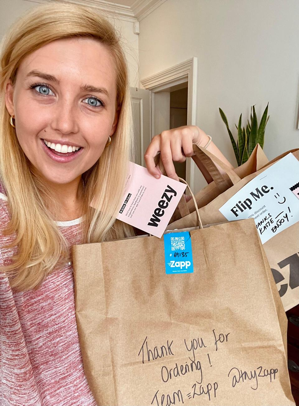 Katie Strick road-tests London's new ultra-fast grocery apps (Katie Strick)