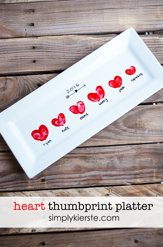 "<p>A perfect way to capture teeny toddler fingerprints, this Heart Thumbprint Platter from Simply Kierste makes the sweetest present for Mom or Grandma. Despite being DIY, it's surprisingly simple and only requires a handful of supplies.</p><p><em><a href=""https://oldsaltfarm.com/heart-thumbprint-platter/?ref=pcrorganicgglunkwn&prid=pcseogglunkwn"" rel=""nofollow noopener"" target=""_blank"" data-ylk=""slk:Get the tutorial."" class=""link rapid-noclick-resp"">Get the tutorial.</a></em></p>"