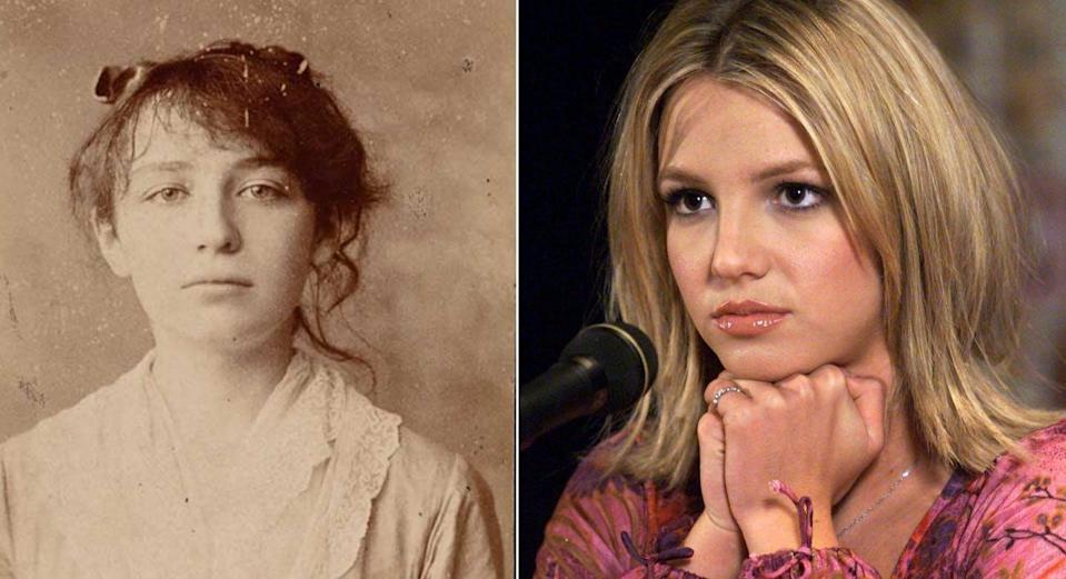 """<span class=""""caption"""">In the cases of both sculptor Camille Claudel (1864-1943) and Britney Spears, we see situations where talented women were declared mentally unfit after family interventions. </span> <span class=""""attribution""""><span class=""""source"""">(Wikimedia Commons/CP PICTURE ARCHIVE/Paul Chiasson)</span></span>"""