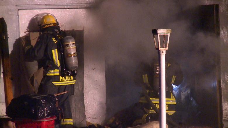 8 people displaced after early morning house fire in Surrey