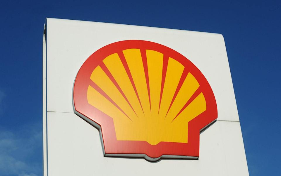 The logo for Shell - Anna Gowthorpe/PA