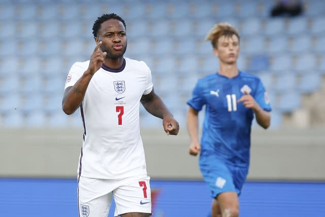 Raheem Sterling's penalty gave England the win