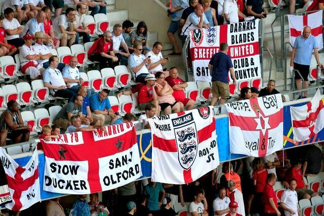 England will play in front of fans again at the Riverside Stadium.