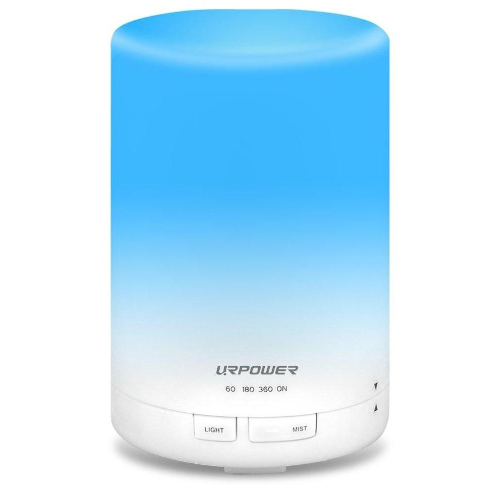 """<p>Want your bedroom filled with sweet-smelling vapors all night long? The Urpower Aroma Essential Oil Diffuser runs for up to seven continuous hours, in addition to three shorter cycle settings. And unlike some other diffusers, this model doesn't just cycle through colors over and over — you can choose one color (sleepy blue, perhaps) to glow all night long. </p> <p><strong>$21</strong> (<a href=""""https://www.amazon.com/URPOWER-Essential-Ultrasonic-Humidifier-Continuous/dp/B0118Q011M?"""" rel=""""nofollow noopener"""" target=""""_blank"""" data-ylk=""""slk:Shop Now"""" class=""""link rapid-noclick-resp"""">Shop Now</a>)</p>"""