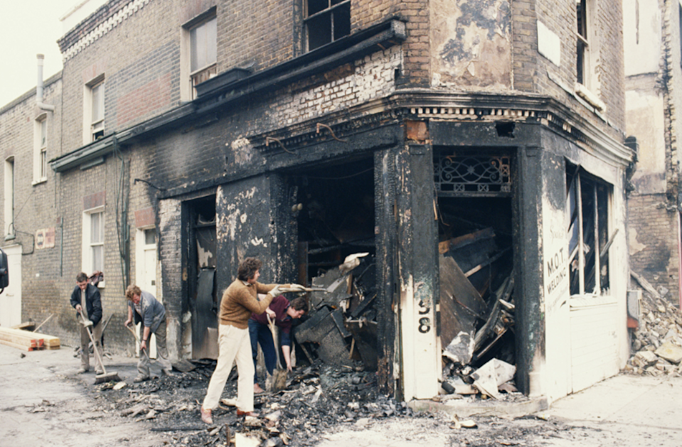 'Most of what was burned down was not really a loss' – Sherron RichardsGetty Images