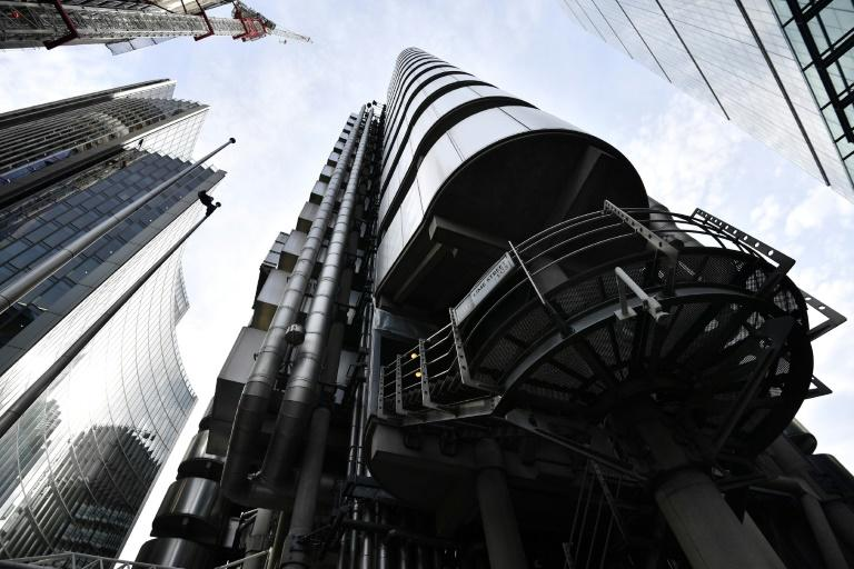 The exterior of Lloyd's of London, the centuries-old insurance market, is pictured in the City of London on March 30, 2017