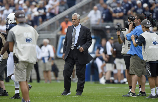 Former NFL linebacker and longtime football analyst Matt Millen received a heart transplant early Monday morning. (Getty Images)