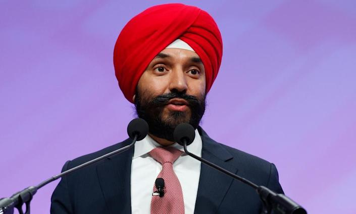 Navdeep Bains, Canada's minister of Innovation, Science and Economic Development: 'I believed that it was an intrusion into my private life … They would never ask me to take off my clothes'