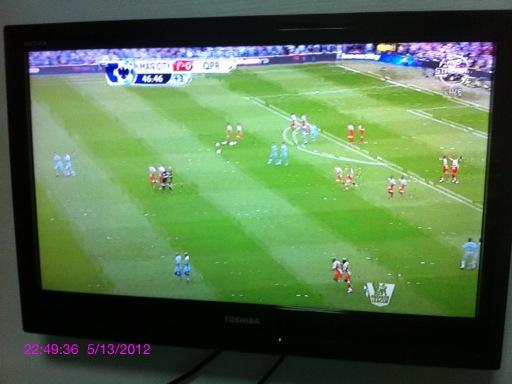 SingTel mioTV scores a major own goal with a patchy transmission on the final day of EPL season. (courtesy of Liu Jiaming)