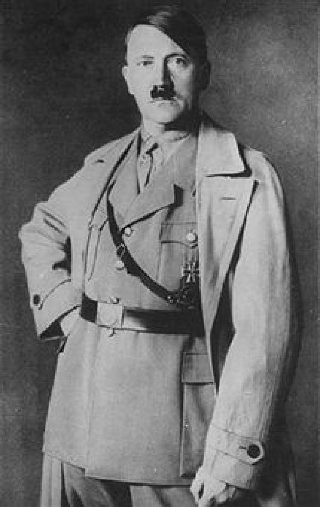 Formal portrait of German Chancellor (fuhrer) Adolf Hitler on his forty-fifth birthday. (Photo by Time Life Pictures/Mansell/Time Life Pictures/Getty Images