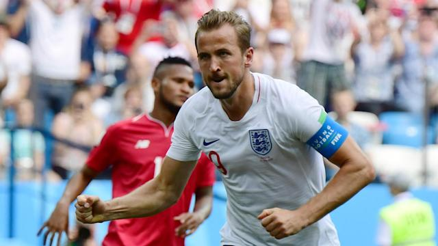 Harry Kane became just the third Englishman to score a hat-trick at the World Cup finals as England routed Panama on Sunday.