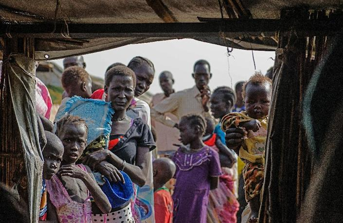 Over 2.25 million have been displaced by the conflict in South Sudan, according to the UN refugee agency (AFP Photo/Charles Lomodong)