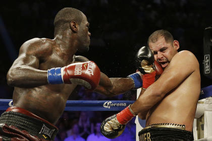Deontay Wilder knocked out Eric Molina in his last fight on June 13. (AP)