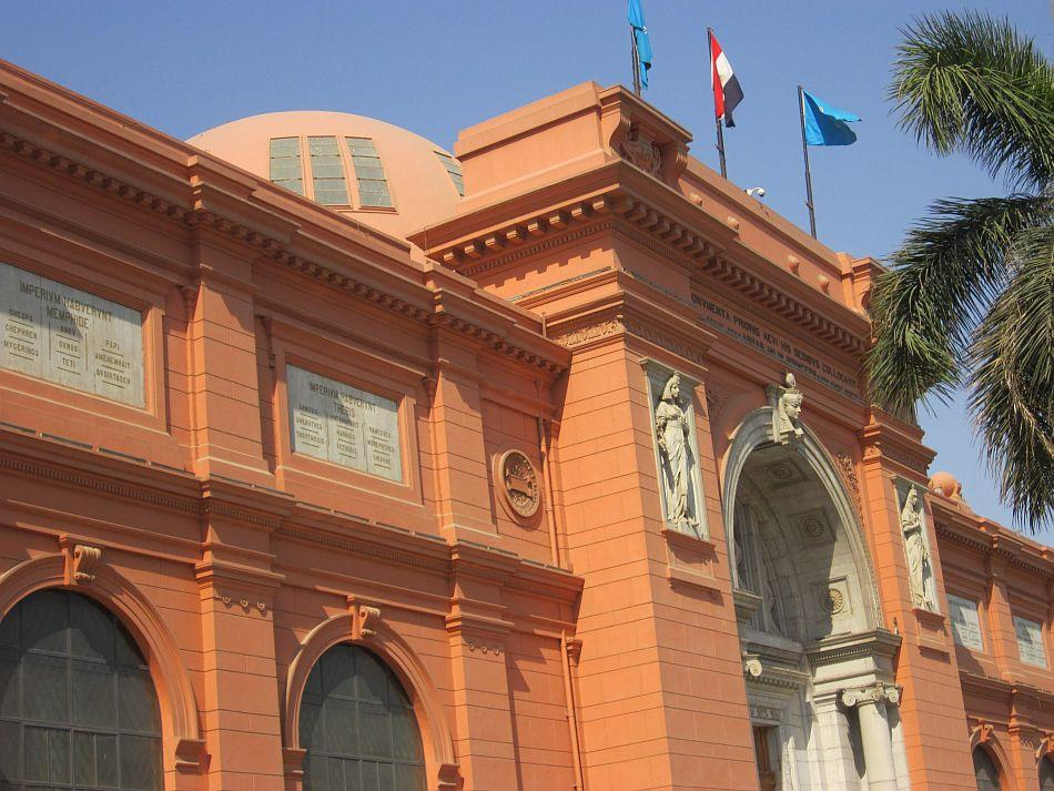 The Egyptian treasure house at the Cairo National Museum -- a national monument in itself