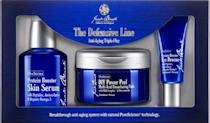 "<p>Women aren't the only ones that have to worry about fine lines and wrinkles. This three-part face care system will protect dad's face from free radical damages leaving him with younger, healthy looking skin. <i>($120 <a href=""http://www.getjackblack.ca/en/gifts-and-sets/the-defensive-line-anti-aging-triple-play-9598070"" rel=""nofollow noopener"" target=""_blank"" data-ylk=""slk:via Jack Black"" class=""link rapid-noclick-resp"">via Jack Black</a>)</i></p>"