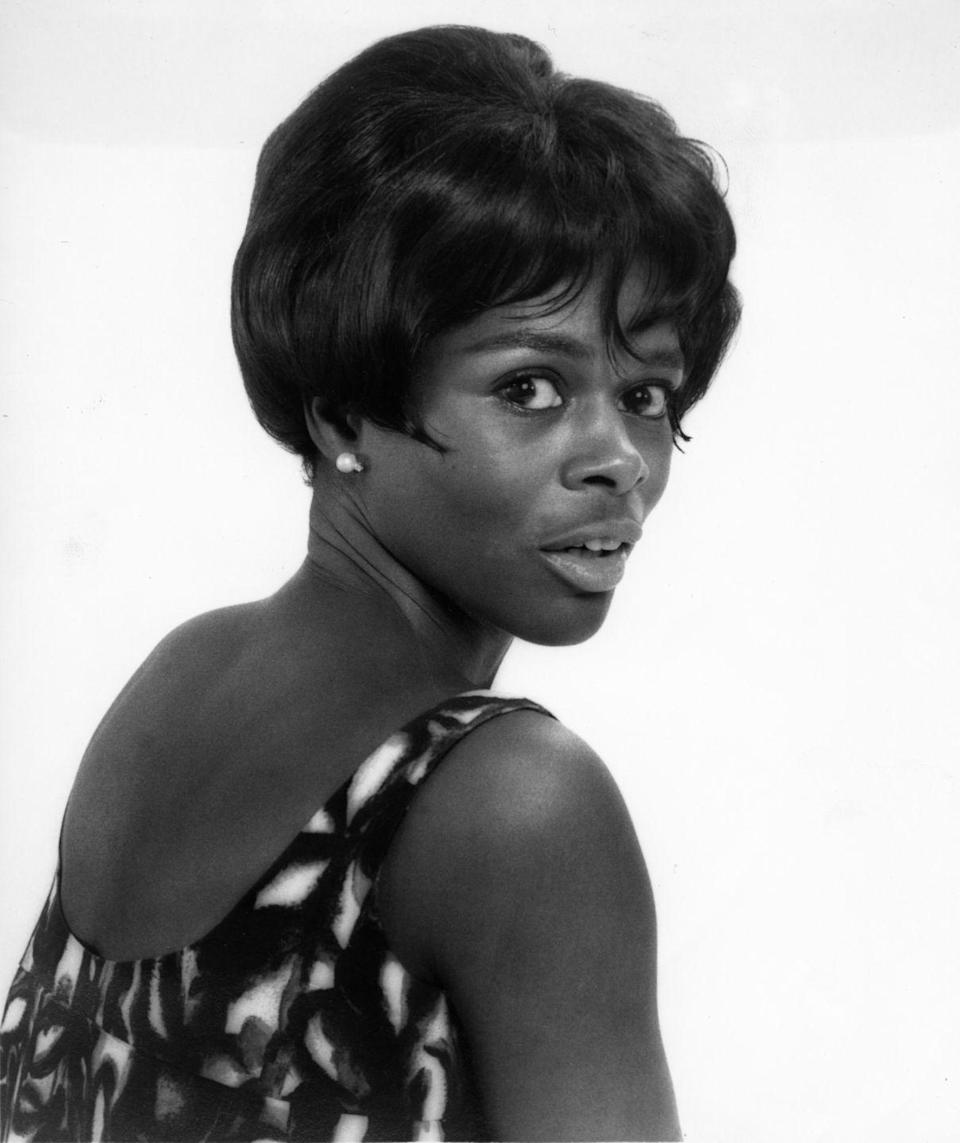 <p>Another glamour shot of Ms. Tyson, this time taken in 1960. Cicely offers us a doe-eyed star while rocking the short bob with bangs hairstyle made famous by R&B singers like The Supremes.</p>