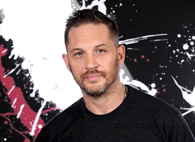 "LOS ANGELES, CALIFORNIA - SEPTEMBER 27: Tom Hardy attends the photo call for Columbia Pictures' ""Venom"" at the Four Seasons Hotel Los Angeles at Beverly Hills on September 27, 2018 in Los Angeles, California. (Photo by Steve Granitz/WireImage)"