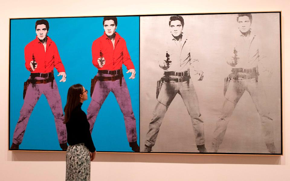 Tate Modern will also re-open its blockbuster Warhol show - AFP/Tate