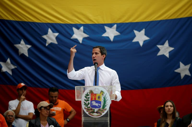 Britain recognises Guaido as Venezuela's president in gold dispute, judge rules