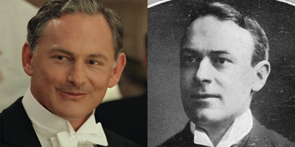 <p>Played by Victor Garber, Thomas Andrews was the shipbuilder in charge of building <em>Titanic</em>. As depicted in the movie, the real Andrews handed out life jackets and tried to help as many people as possible get to safety. He died when the ship sank and was survived by his wife and their daughter. </p>